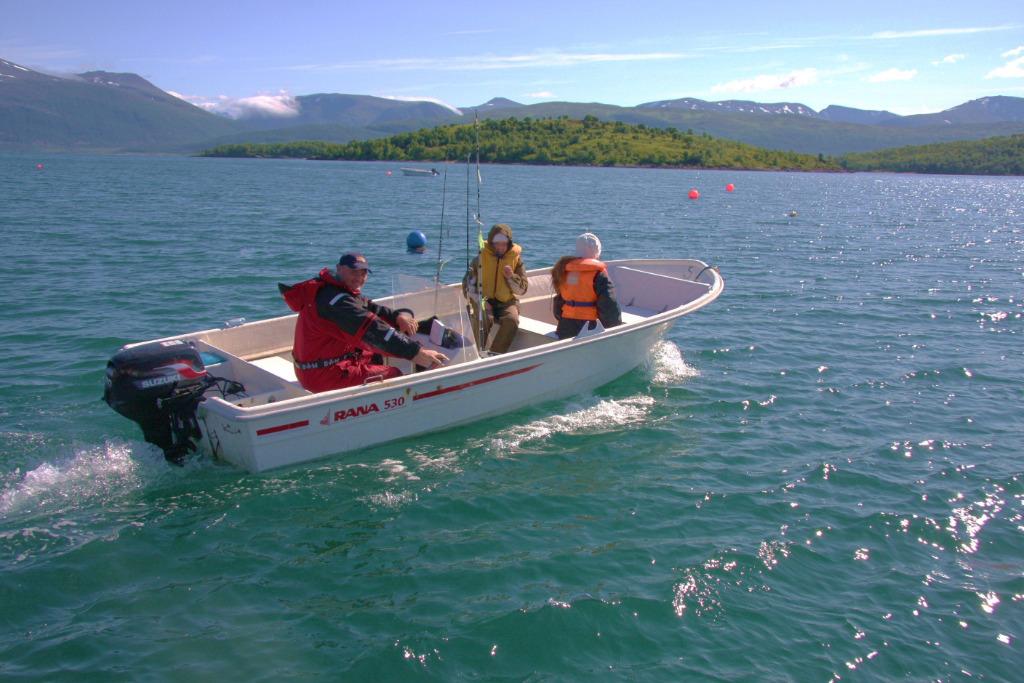 Angeln und Bootsverleih